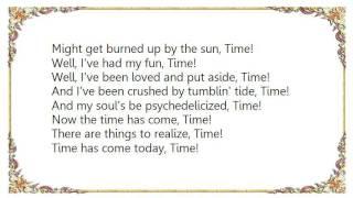 Joan Jett - Time Has Come Today Lyrics
