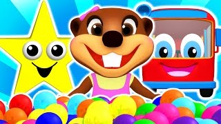 """Baby Star"" Colors for Children to Learn with Songs, Shapes, ABCs & Nursery Rhymes by Busy Beavers"