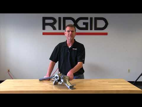 Meet the RIDGID 916 Roll Groover