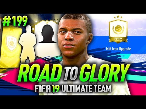 FIFA 19 ROAD TO GLORY #199 - I DID THE MID ICON SBC!!