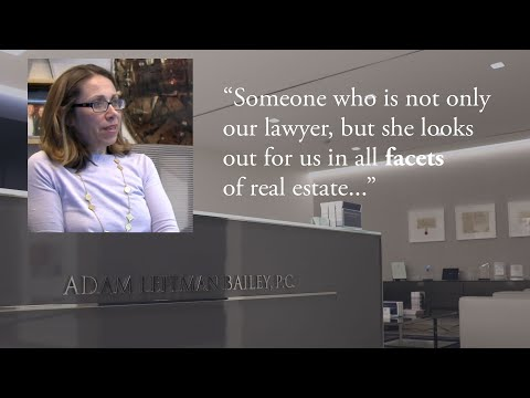 """Someone Who Is Not Only Our Lawyer, but She Looks out for Us in All Facets of Real Estate."" testimonial video thumbnail"