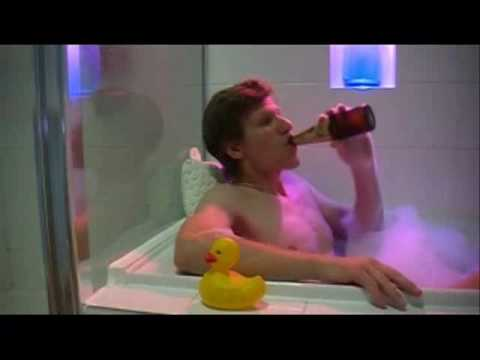 Image of David Kupisiewicz sitting in a bath