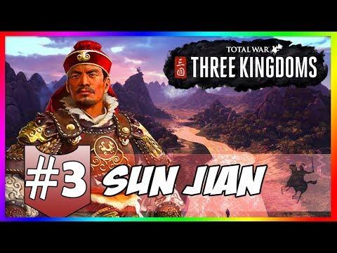 TOTAL WAR THREE KINGDOMS #3 LỊCH SỬ THAY ĐỔI, TÔN KIÊN CHINH PHẠT TÀO THÁO ???