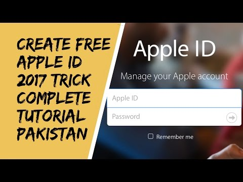 Easiest way to create an Apple ID (without credit card