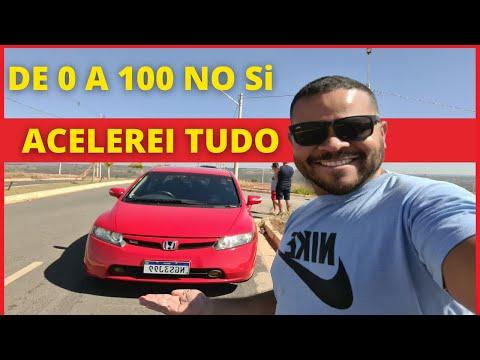 DE 0 A 100 NO CIVIC Si - O CARRO MAIS RPIDO DO CANAL!