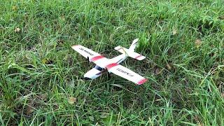 Test - RC Cessna Flugzeug fernsgesteuert von Aliexpress für 25€