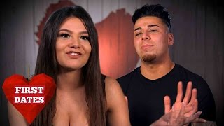Molly Makes Fun Of Husseins Boat Shoes | First Dates
