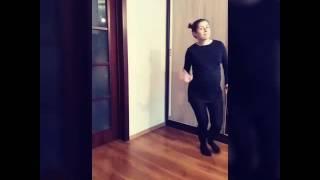 Танец беременной. Смешное видео. Прикольное видео.будущая мама