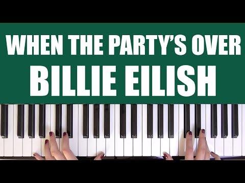download lagu mp3 mp4 Billie Eilish - When The Partys Over Chords Piano, download lagu Billie Eilish - When The Partys Over Chords Piano gratis, unduh video klip Billie Eilish - When The Partys Over Chords Piano
