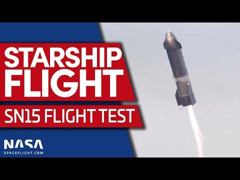 Starship SN15 décolle aujourd'hui (EDIT 20h45: ANNULÉ)