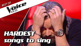 TOP 10 | Most DIFFICULT SONGS to sing in The Voice Kids PART 2