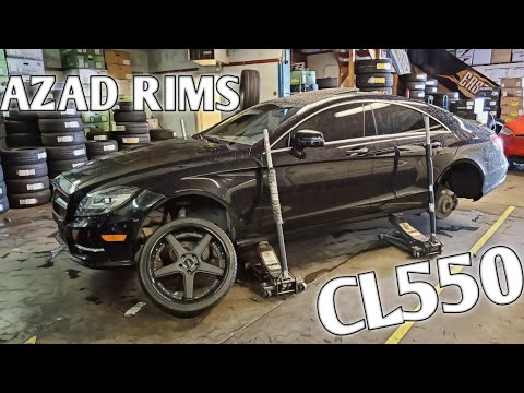 These Rims Made The CLS550 Way More Sporty!