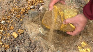 Nearly! 70 Kilograms of Gold Nugget; Huge Actually