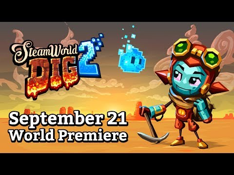 SteamWorld Dig 2 – Release Date Trailer (Nintendo Switch) thumbnail