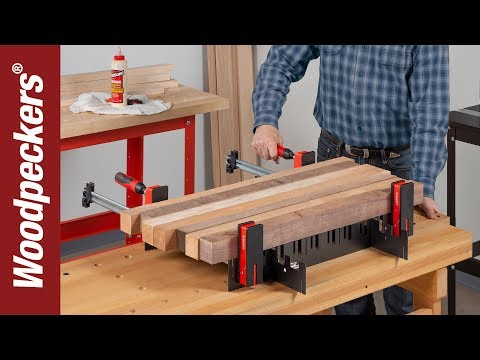 Universal Clamp Support for Glue-Ups