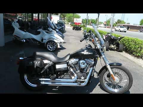 2008 Harley-Davidson Dyna Street Bob in Sanford, Florida - Video 1
