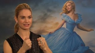 Lily James Shoots Down Cinderella Photoshop Rumours