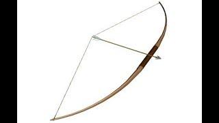 Cách làm cung tên từ tre Bow and Arrow From Bamboo Primitive Technology