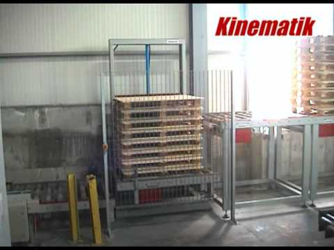 Pallet Lift Conveyor - Pallet Conveyor System