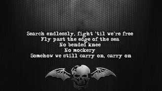 Avenged Sevenfold - Carry On [Lyrics on screen] [Full HD]