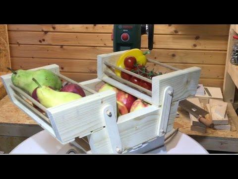 DIY Obstkorb, fruit basket