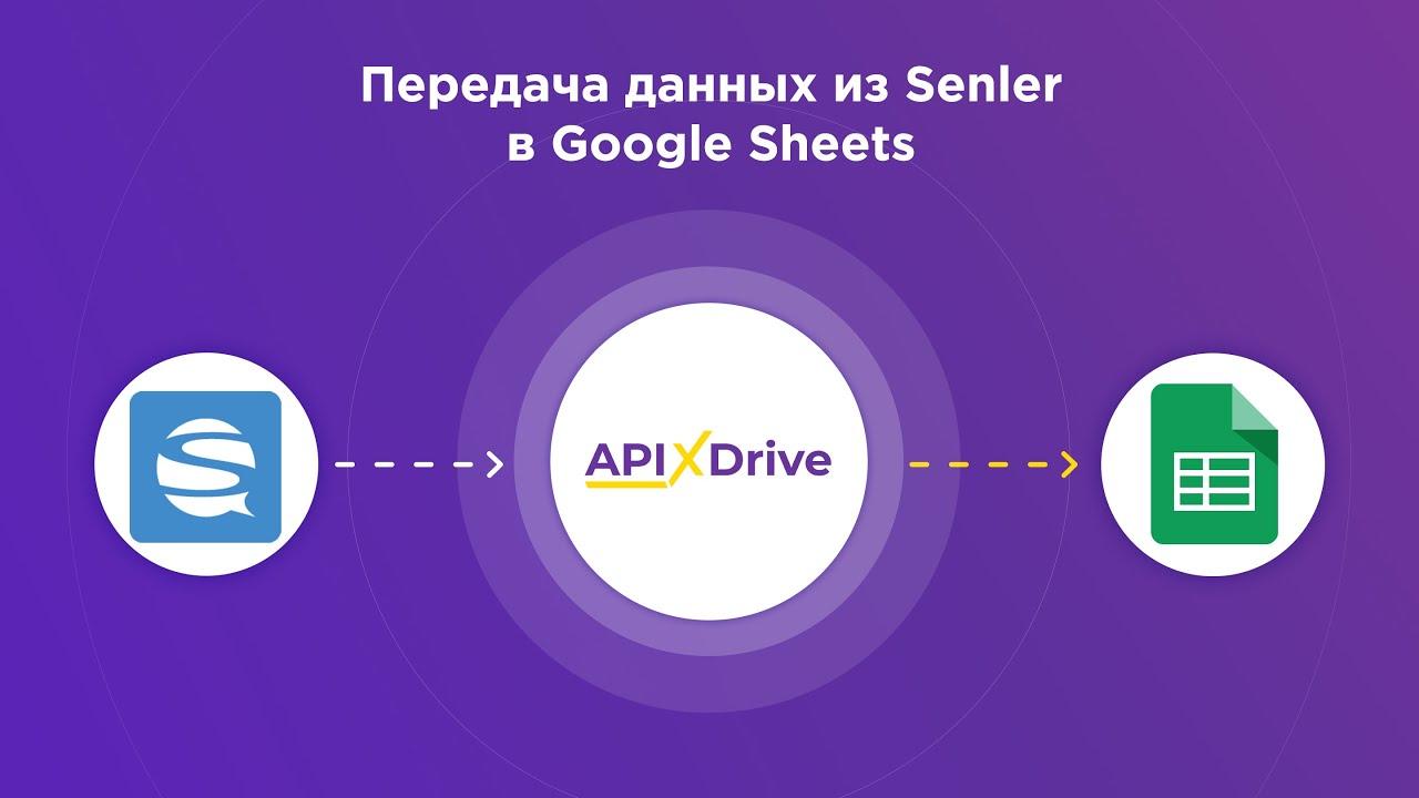 Как настроить выгрузку данных из Senler в Google Sheets?