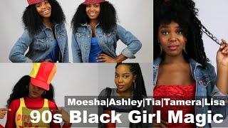 90s Sitcom Brown Girls | Hair & Fashion Lookbook| Black Girl Magic