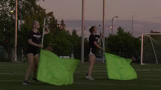 2019 Spartan Color Guard - Run Wild