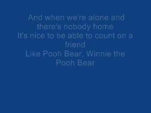 the new adventures of winnie the pooh lyrics