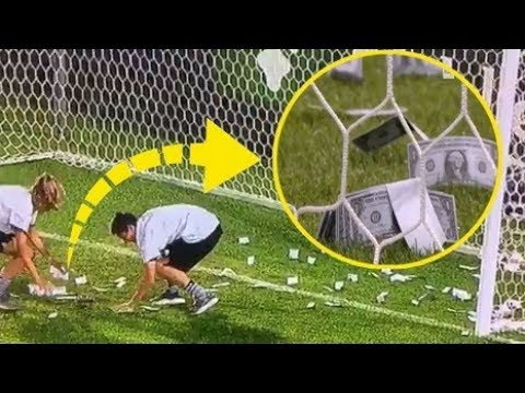 ►Strange Things Thrown On A Football Field