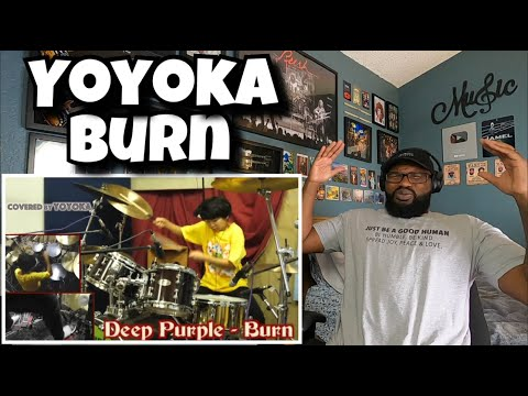 Burn - Deep Purple / Covered By Yoyoka Soma   REACTION