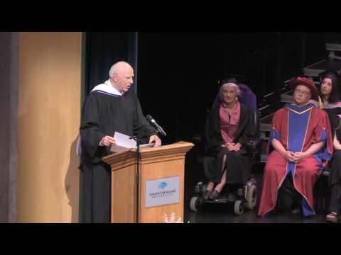Michael Audain honorary doctorate from Vancouver Island University