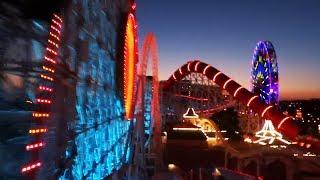 Incredicoaster FULL POV night and day comparison in Pixar Pier at Disneyland Resort