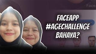 WOW TODAY: AWAS! Aplikasi FaceApp untuk #AgeChallenge BAHAYA