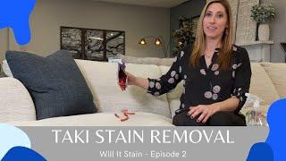Sweet Dreams Mattress & Furniture - Will It Stain? Episode 2 - Takis