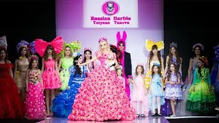 Tatyana Tuzova Russian Barbie - Moscow Fashion Week
