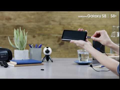 Samsung Galaxy S8: USB Typ C-Anschluss