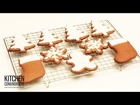 How to Decorate Cookies with Royal Icing – Kitchen Conundrums with Thomas Joseph