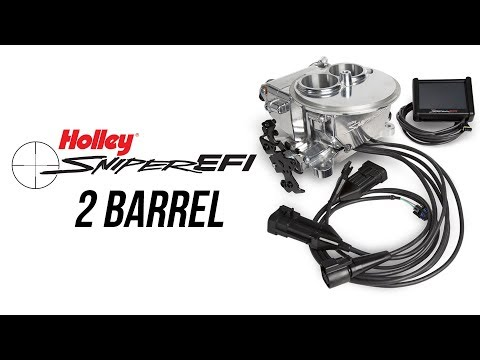 Holley 2 Barrel Sniper EFI 2300