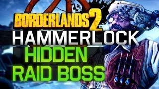 Hammerlock Hidden Raid Boss! Dexiduous The Invincible | Borderlands 2 loot (Chopper)