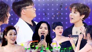 """Những phút """"LIVE NGẪU HỨNG"""" của các ca sĩ khách mời khiến sân khấu Giọng ải giọng ai muốn """"TAN CHẢY"""""""