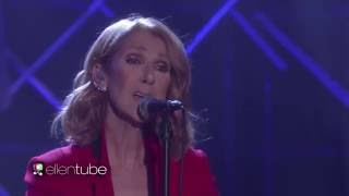Celine Dion   Recovering (Live On Ellen Show, September 12th 2016)