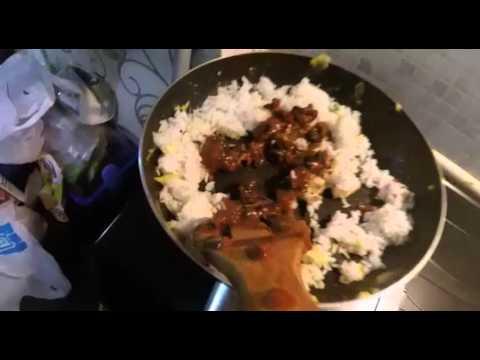 Video nasi goreng sate kost