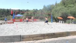 Пляжный волейбол. Лучшие моменты. Posedarjie Open 2015. 1/4 финала.