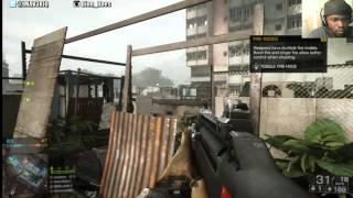 Battlefield 4 Multiplayer Gameplay - STREAKY | BF4 PS4 Gameplay