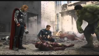 The Avengers: The Hulk saves Iron-Man 720p