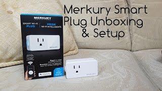 Merkury smart plug Unboxing and Setup