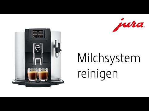 JURA E8 - Milchsystem reinigen
