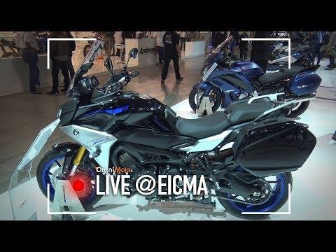 Yamaha Tracer 900 e 900 GT 2018 | EICMA 2017