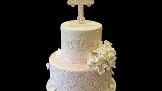 Charlottes Baptism Cake